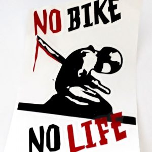 Nálepka No bike
