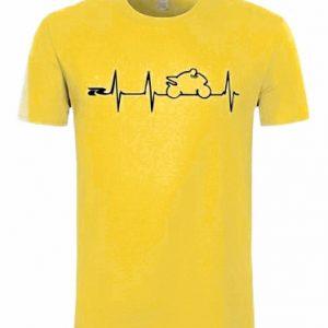 Tričko biker žluté