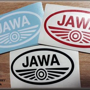 Nálepka Jawa