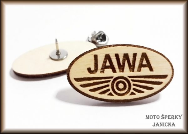 Brož Jawa světlá