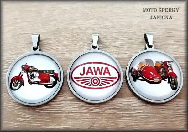 Přívěšek Jawa sidecar