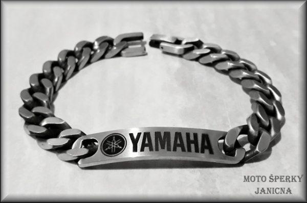 Náramek Yamaha ocel