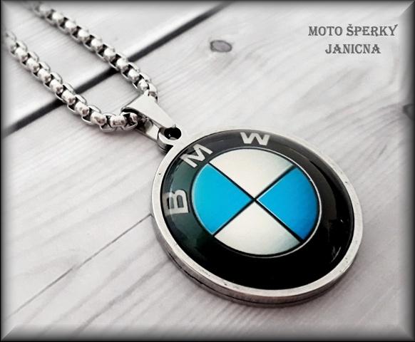 Přívěšek BMW ocel