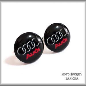 Náušnice Audi ocel