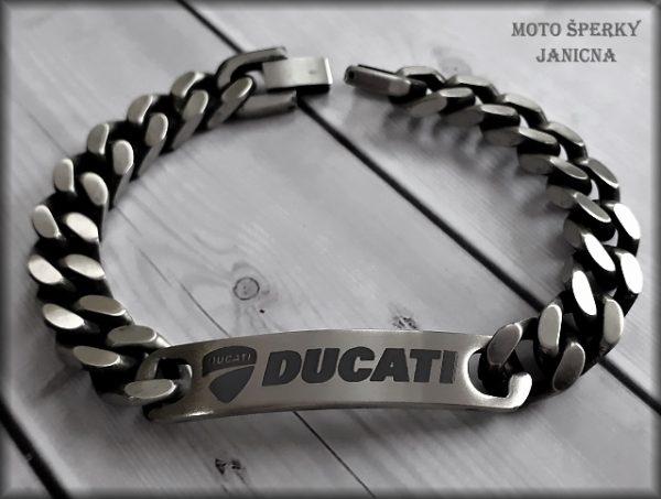 Náramek Ducati ocel