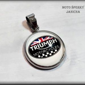 Přívěšek Triumph ocel