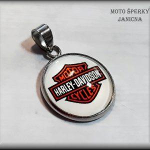 Přívěšek Harley ocel