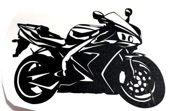 Nálepka Yamaha R1 2004