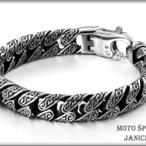 Pánský náramek ocel