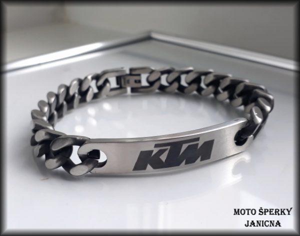 Náramek KTM ocel