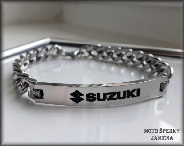 Náramek Suzuki ocel