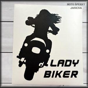 Nálepka Lady Biker