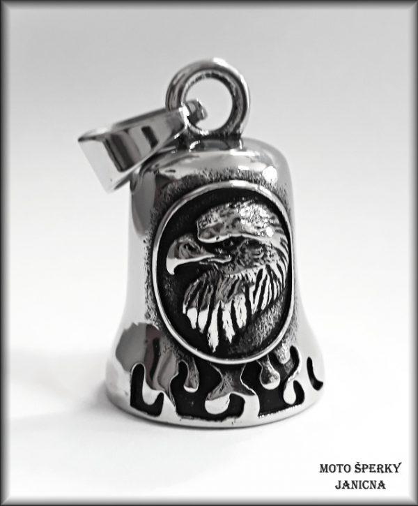 Zvoneček na motorku orel