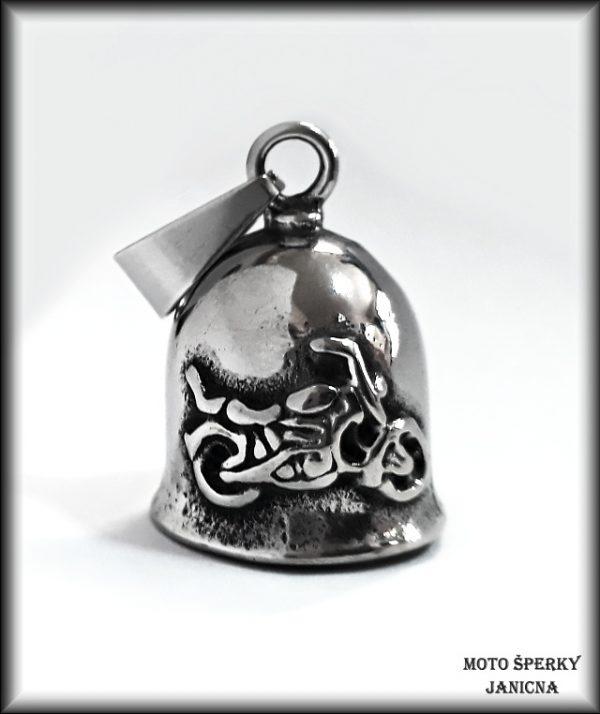 zvoneček na motorku