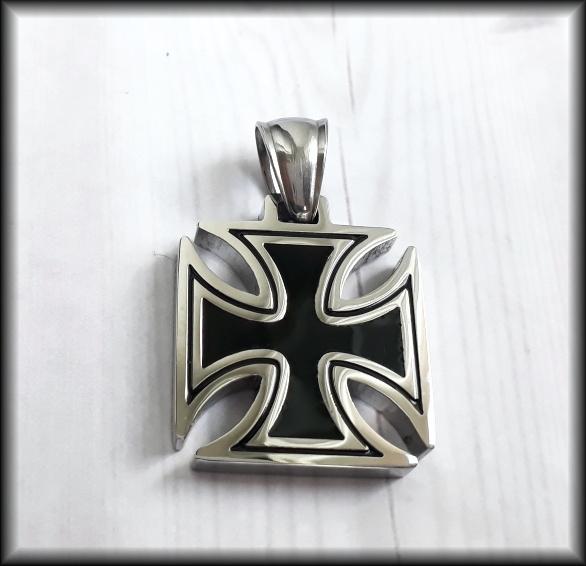 Maltézský kříž malý chir. ocel