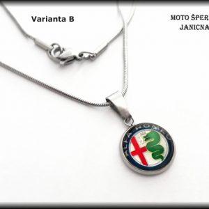 Přívěšek Alfa Romeo ocel