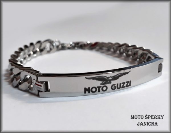 Náramek Moto Guzzi ocel