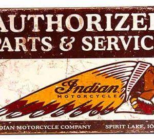 Plechová cedule Indian