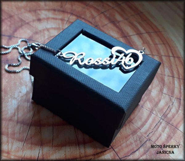 náhrdelník řetízek Rossi 46