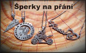 šperky z oceli na přání