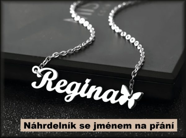 náhrdelník se jménem