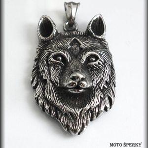 přívěšek vlk ocel