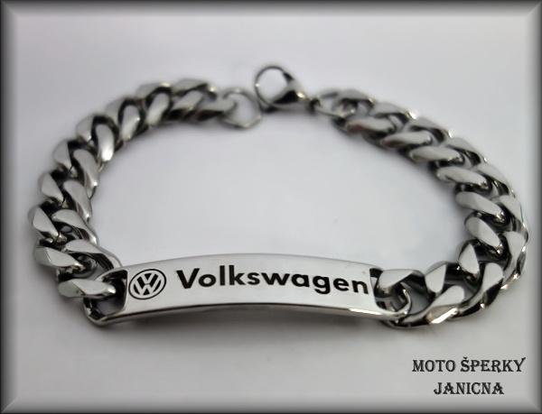 Náramek Volkswagen ocel