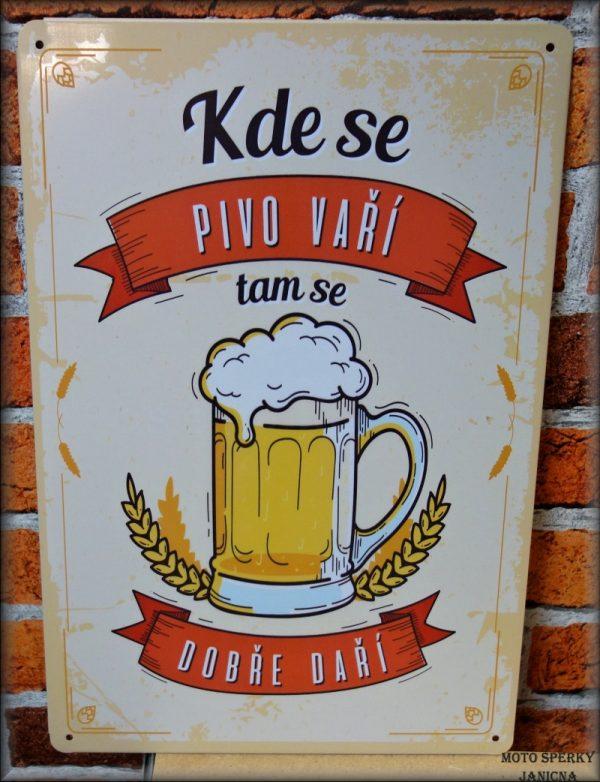 cedule kde se pivo vaří