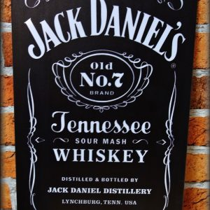 Cedule Jack Daniels