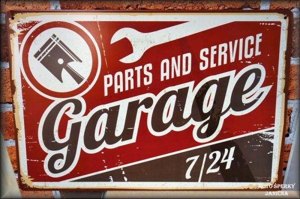 cedule garáž garage