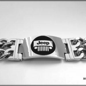 náramek jeep ocel