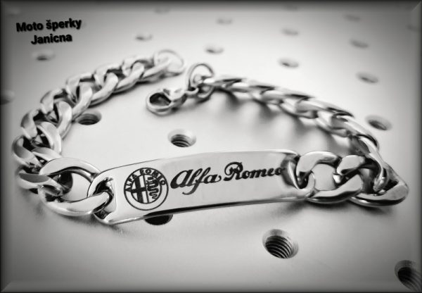 Náramek Alfa Romeo / na přání
