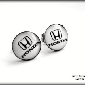 náušnice Honda auto ocel