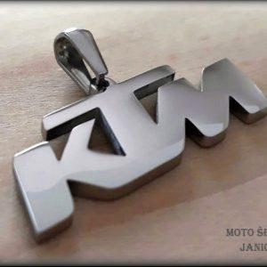 Přívěšek KTM ocel