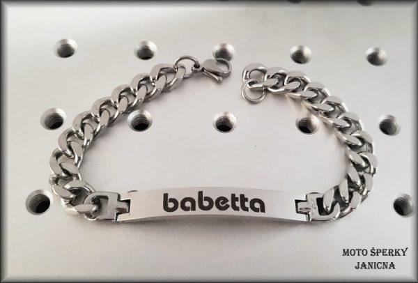 náramek Babetta ocel